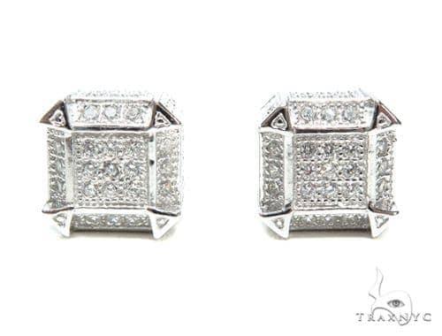 Sterling Silver Earrings 41297 Metal