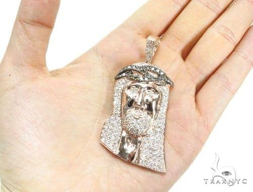 Prong Diamond Jesus Piece 41762 Diamond Jesus Piece