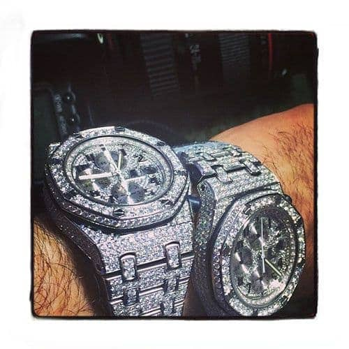 Audemars Piguet Royal Oak Offshore Full Diamond Watch Audemars Piguet Watches
