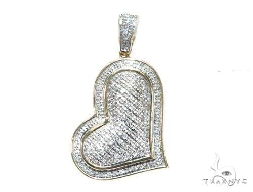 Prong Diamond Heart Pendant 41785 Style
