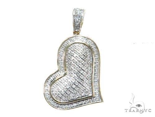 Prong Diamond Heart Pendant 41785 Style