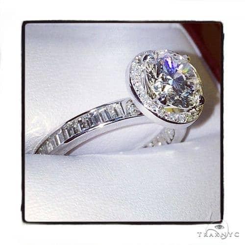 Prong Diamond Engagement Ring 41813 エンゲージメント
