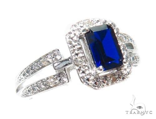 Sapphire & Prong Diamond Anniversary/Fashion Ring 41833 Anniversary/Fashion