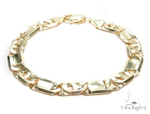 Tiger Eye Gold Bracelet 41928 Gold