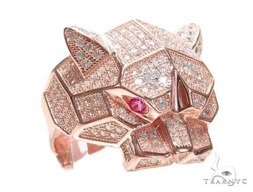 Jaguar Silver Ring 41955 Metal