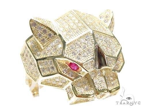 Jaguar Silver Ring 41954 Metal