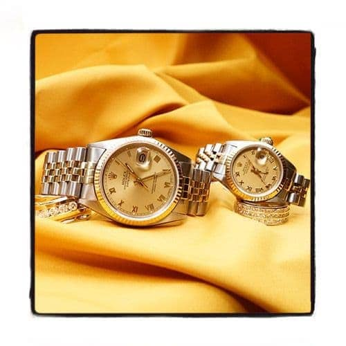 Rolex Datejust  Yellow Gold and Steel V16233chsj Diamond Rolex Watch Collection