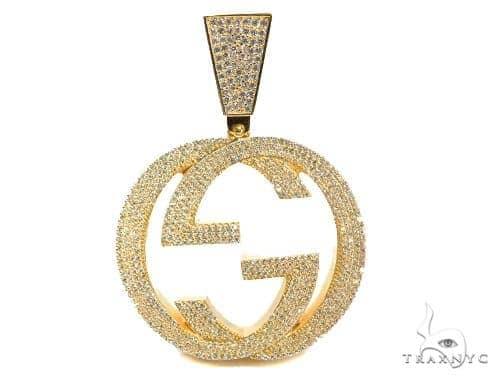 G Sterling Silver Pendant 41595 Metal