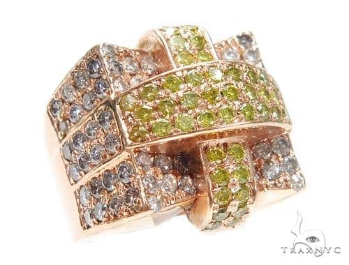 Prong Colored Diamond Ring 42147 Stone