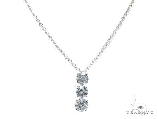 Waterdrop Diamond Necklace 42310 Diamond