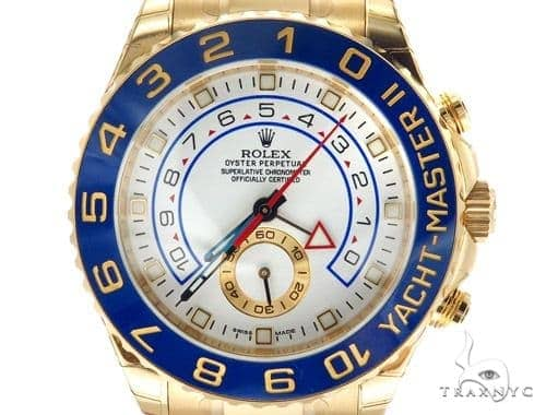 Diamond Rolex Yacht-Master II Watch 42354
