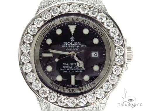 Pave Diamond Rolex Deepsea Watch 42352 Diamond Rolex Watch Collection