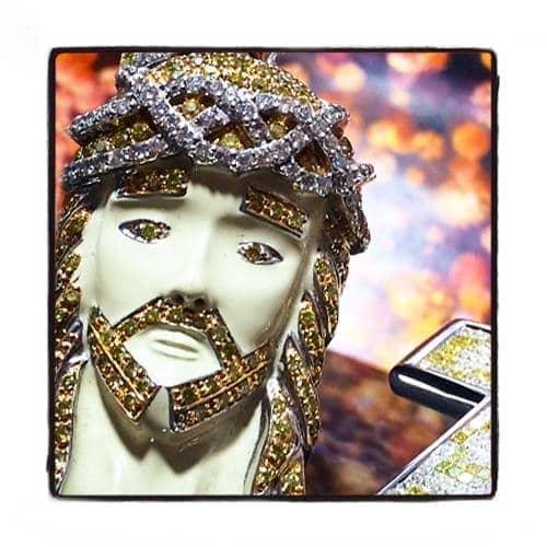 Prong Diamond Jesus Piece 42068 Style