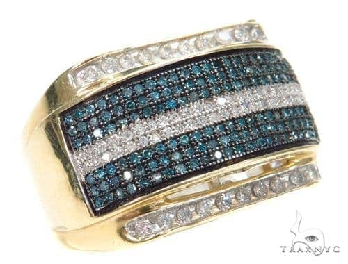 Prong Colored Diamond Ring 42482 Stone