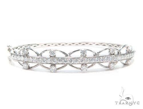 Prong Diamond Bangle Ring 42501 Bangle