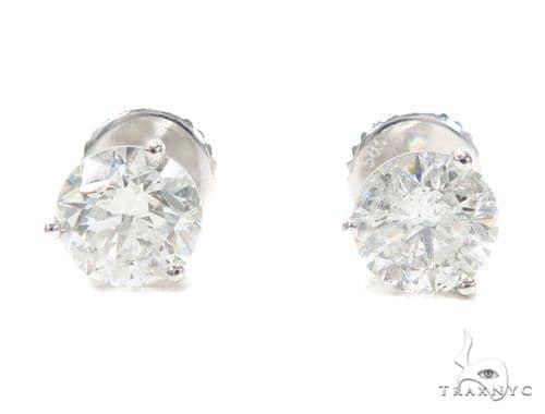 Martini Stud Diamond Earrings 42557 Style
