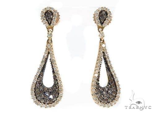 Teardrop Prong Diamond Earrings 42560 Style