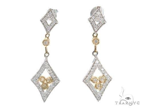 Prong Diamond Earrings 42574 Style