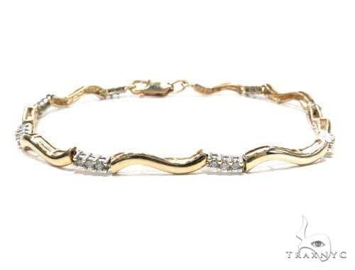 Prong Diamond Bracelet 42656 Diamond