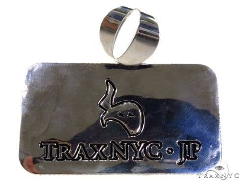 Custom Made Ollie Pendant 42904 Sterling Silver Pendants