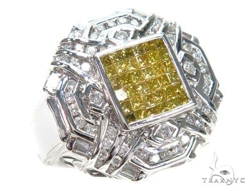 Channel Colored Diamond Ring 42720 Stone