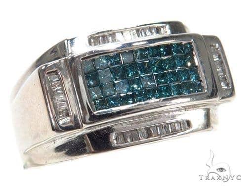 Invisible Colored Diamond Ring 42731 Stone