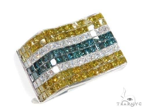 Invisible Colored Diamond Ring 42747 Stone