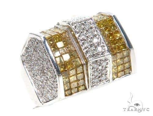 Invisible Colored Diamond Ring 42766 Stone