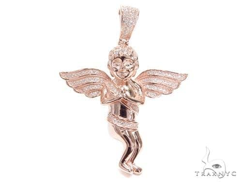 Angel Sterling Silver Pendant 42890 Metal