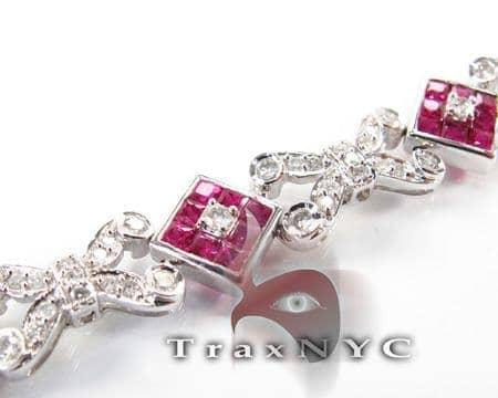 Ruby Tetra Bracelet Diamond