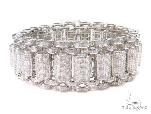 Prong Diamond Bracelet 43123 Diamond