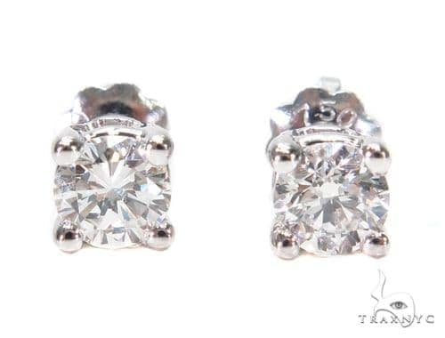 Prong Diamond Earrings & Necklace Set 43165 Diamond
