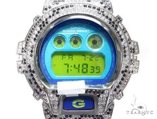 Silver Case Casio G-Shock Watch DW6900PL-7 43189 G-Shock