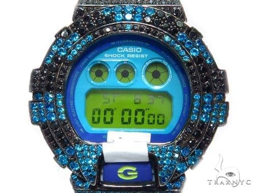 Silver Case Casio G-Shock Watch DW6900CS-7 43178 G-Shock