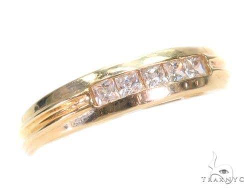 14k Yellow Gold Ring 43647 Anniversary/Fashion