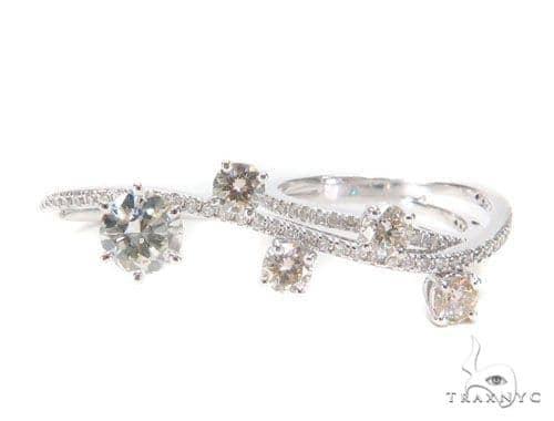 Prong Diamond Two Finger Ring 2 43337 Anniversary/Fashion