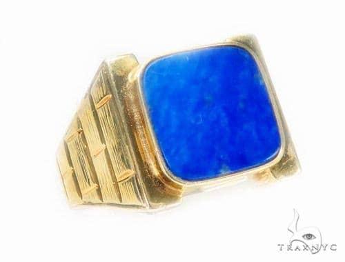 14K Yellow Gold Ring Metal
