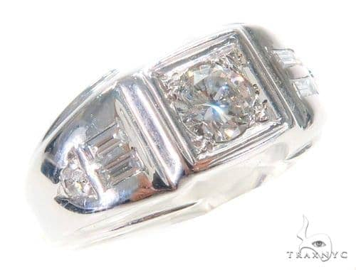 Prong Diamond Pinky Ring 43750 Style