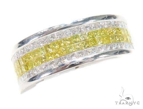 Invisible Colored Diamond Ring 43770 Stone