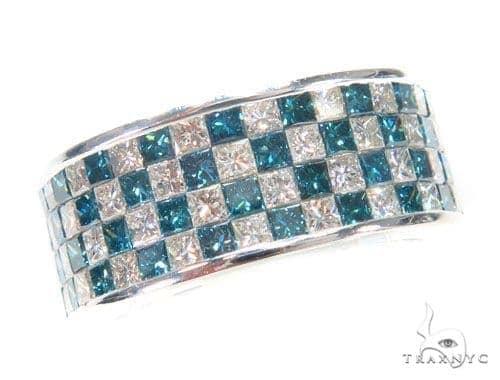 Invisible Colored Diamond Ring 43792 Stone