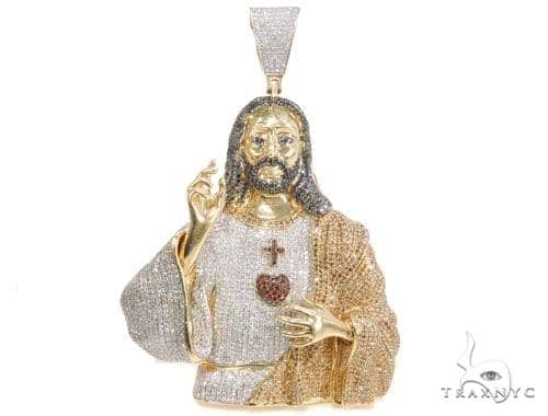 Prong Diamond Jesus Piece 43824 Style