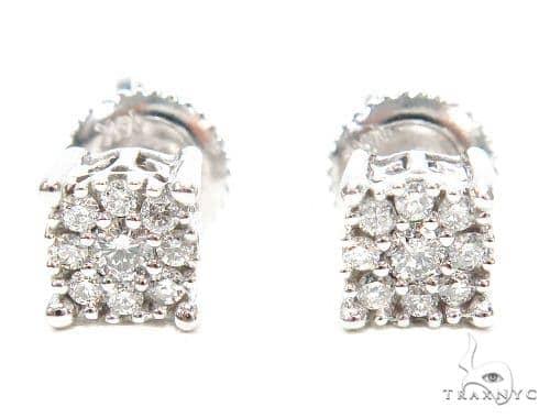 Prong Diamond Stud Earrings 42444 Style