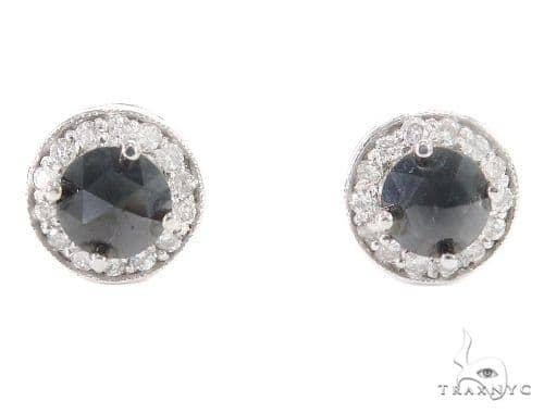 Prong Diamond Earrings 43885 Style