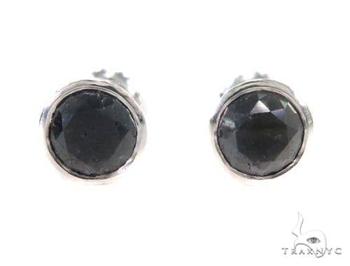 Bezel Diamond Earrings 43888 Style