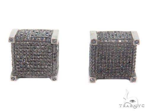 Cube Diamond Earrings 43910 Style