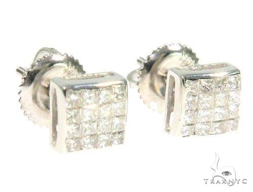 Invisible Diamond Earrings 44336 Style