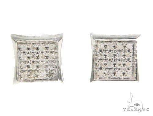 Prong Diamond Earrings 44343 Style