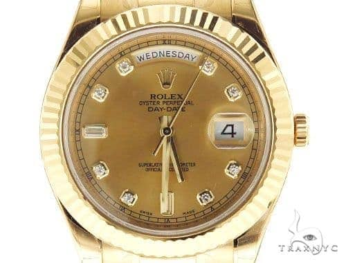 Rolex Day Date II President Yellow Gold 218238