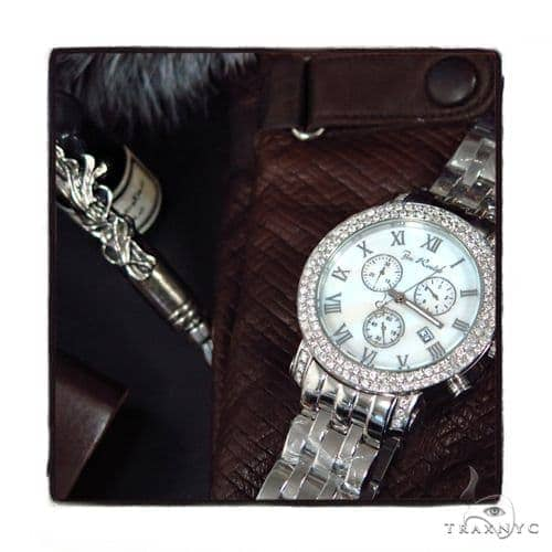 Pave Diamond Joe Rodeo Watch 44389 Joe Rodeo
