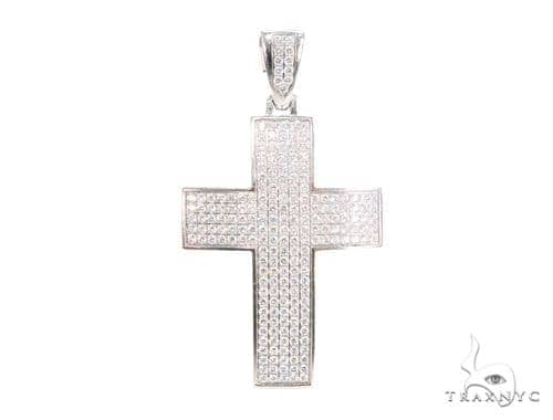 Prong Diamond Cross 44134 Diamond